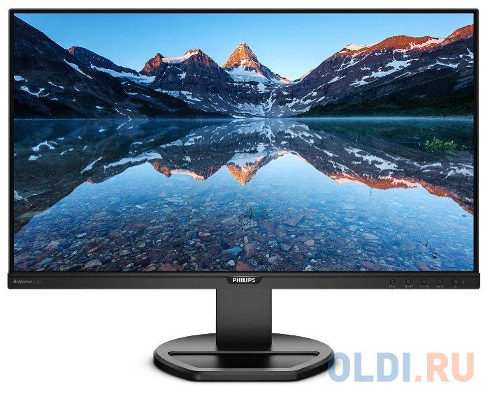 Монитор 25 Philips 252B9/00 черный IPS 1920x1200 300 cd/m^2 5 ms DVI HDMI DisplayPort VGA Аудио USB монитор philips 31 5 323e7qdab 00 01 черный