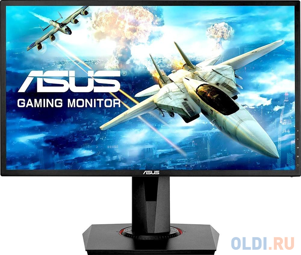 Монитор 24 ASUS VG248QG черный TN 1920x1080 350 cd/m^2 1 ms DVI HDMI DisplayPort Аудио 90LMGG901Q022E1C- монитор asus vg248qe 24 черный