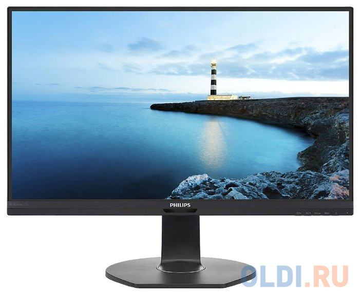 Монитор 27 Philips 272B7QUPBEB (00/01) черный IPS 2560x1440 350 cd/m^2 5 ms HDMI DisplayPort USB LAN Аудио USB Type-C монитор philips 31 5 323e7qdab 00 01 черный