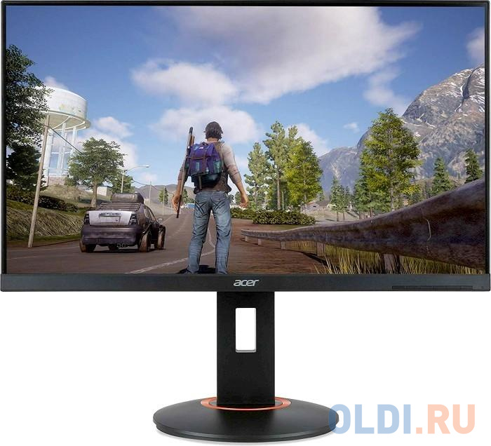Фото - Монитор 27 Acer XF270HUCbmiiprx черный TN 2560x1440 350 cd/m^2 1 ms DisplayPort HDMI UM.HX0EE.C06 монитор 27 hp omen x 27 черный tn 2560x1440 400 cd m^2 1 ms hdmi displayport аудио usb 6fn07aa