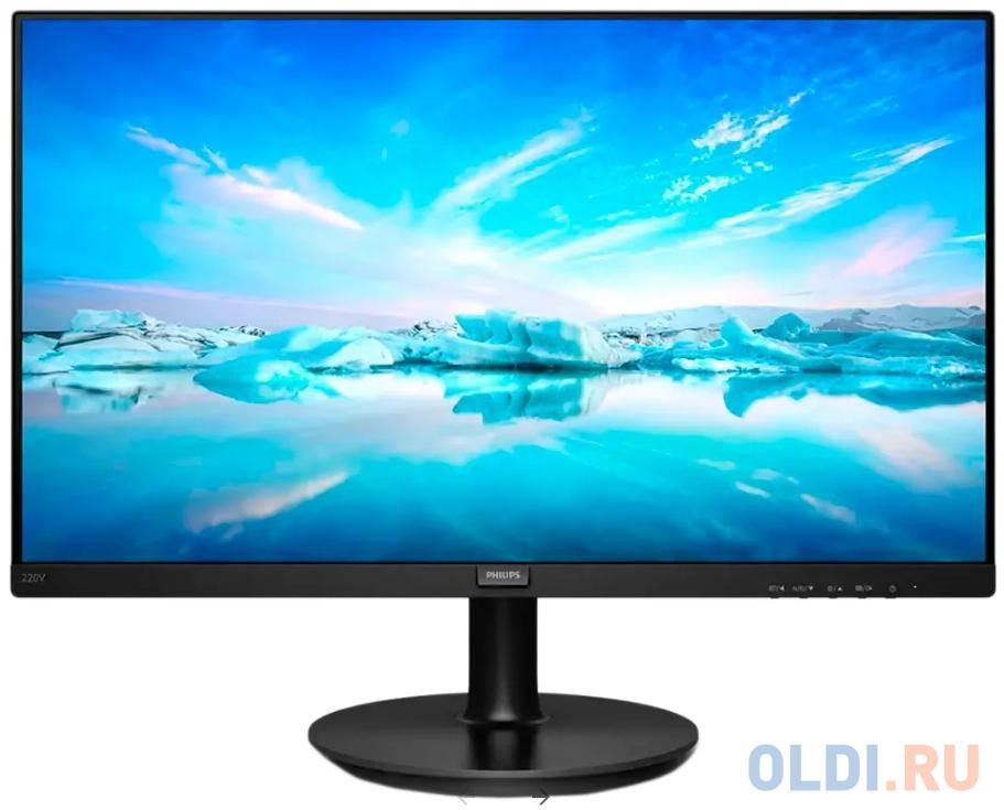 Монитор 23.8 Philips 242V8LA/00 черный VA 1920x1080 250 cd/m^2 4 ms HDMI DisplayPort Аудио VGA аксессуар palmexx hdmi vga px hdmi vga