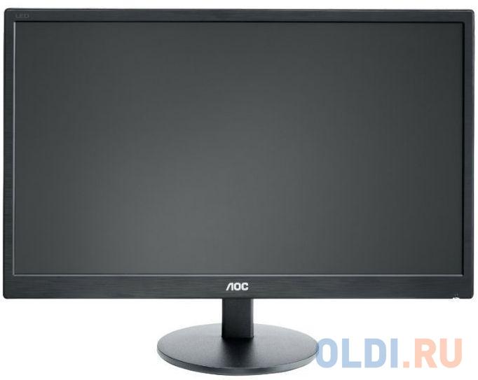 Монитор 22 AOC E2270SWN черный TN 1920x1080 200 cd/m^2 5 ms VGA монитор 22 aoc e2270swdn черный tn 1920x1080 200 cd m^2 5 ms vga