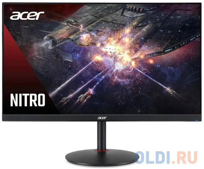 Монитор 24 Acer Nitro XV242YPbmiiprx черный IPS 1920x1080 400 cd/m^2 2 ms HDMI DisplayPort Аудио UM.QX2EE.P01 монитор acer kg241bmiix 24 черный