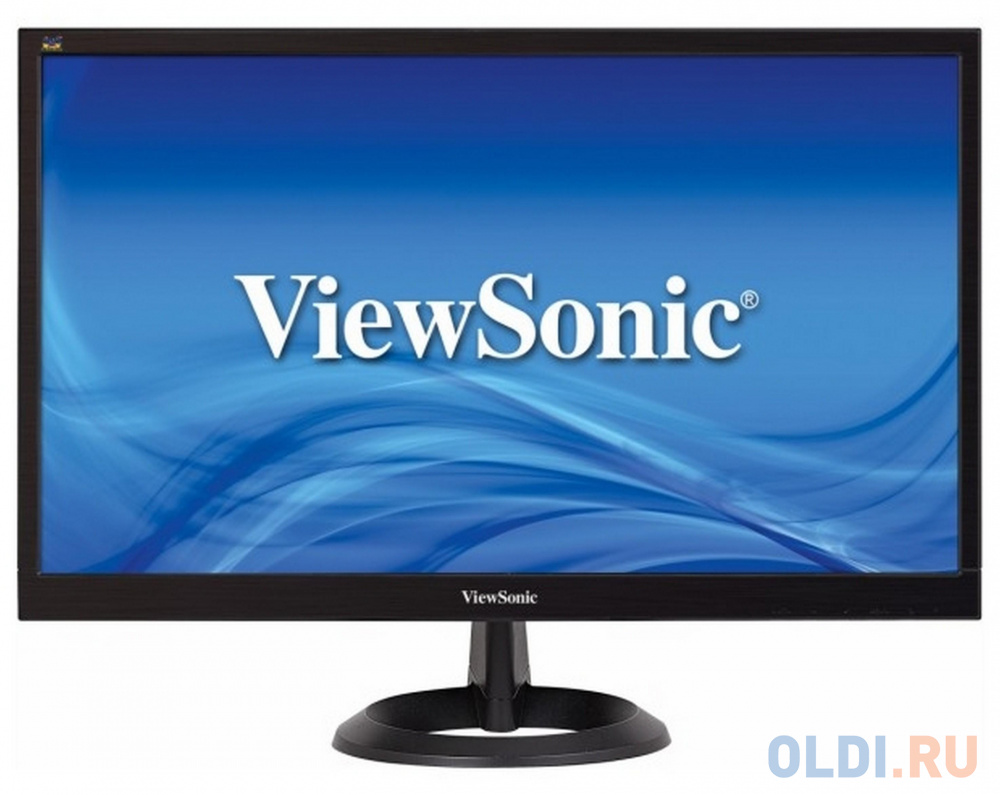 Монитор 22 ViewSonic VA2261-2 черный TFT-TN 1920x1080 200 cd/m^2 5 ms DVI VGA монитор 22 aoc e2270swdn черный tn 1920x1080 200 cd m^2 5 ms vga
