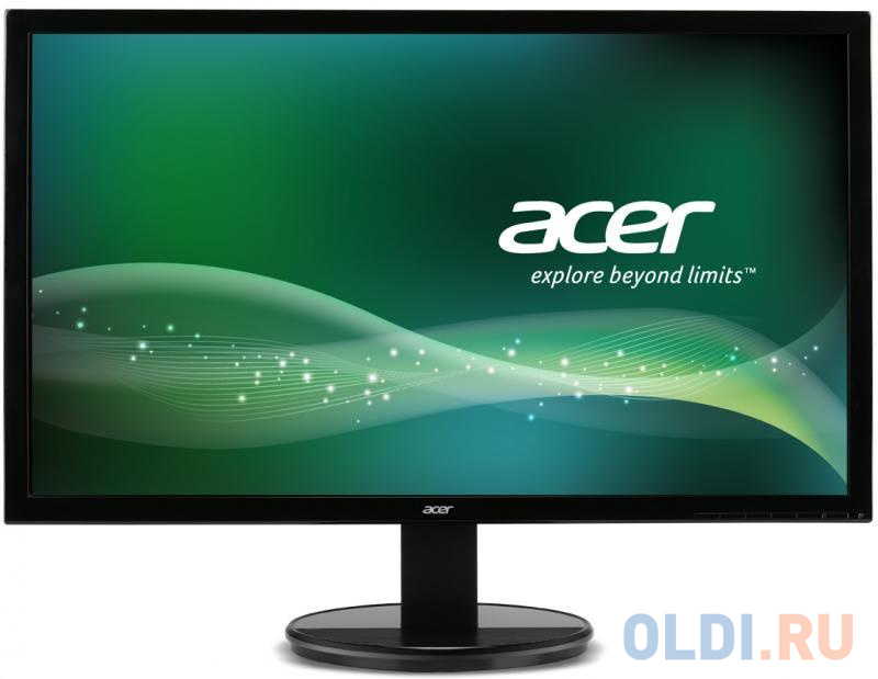 Монитор 27 Acer K272HLEbd Black MVA, 1920x1080, 4ms, 300 cd/m2, 3000:1 (DCR 100M:1), D-Sub, DVI-D (HDCP), 1Wx2, vesa монитор 21 5 acer k222hqlbid gl black led 1920x1080 5ms 200 cd m2 dcr 100m 1 d sub dvi hdcp hdmi vesa