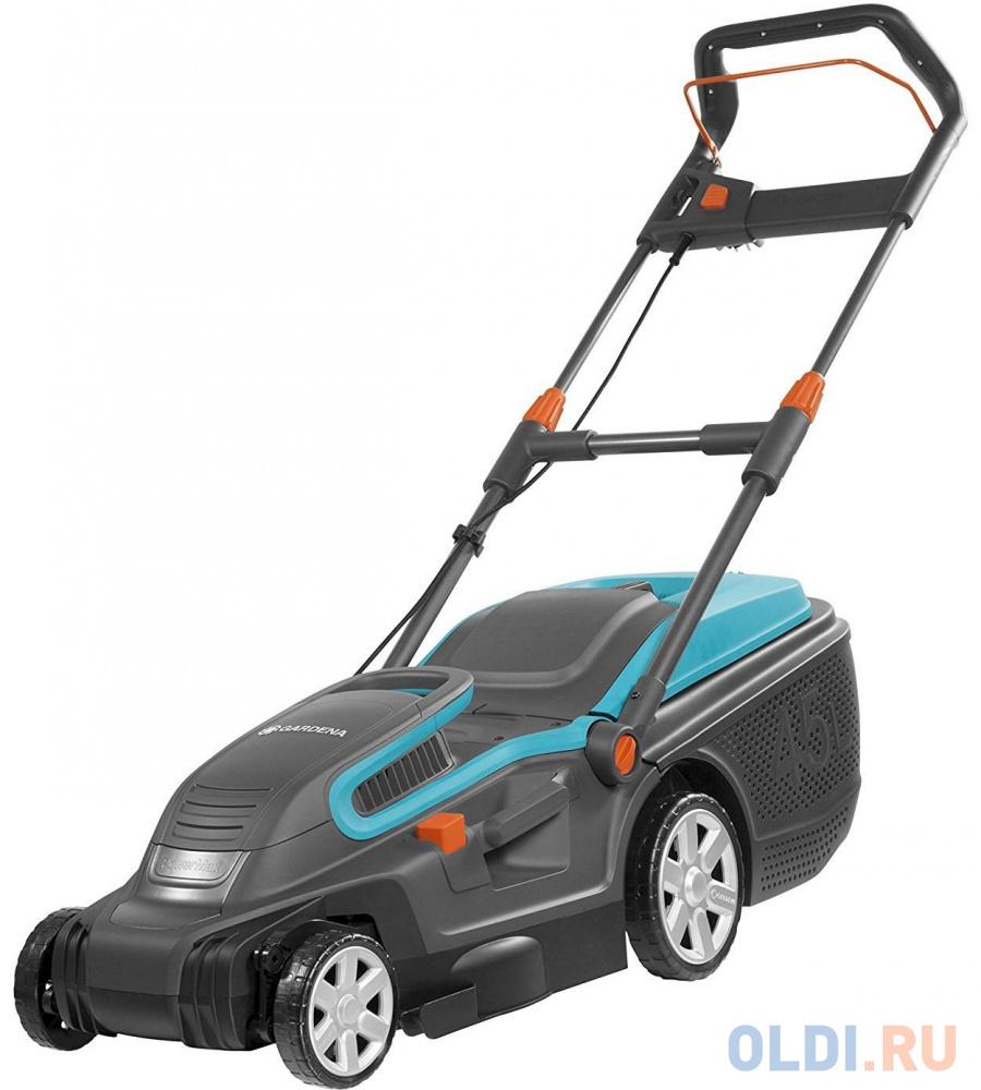 Фото - колесная газонокосилка / триммер Gardena PowerMax 1600/37 колесная газонокосилка триммер зубр згкэ 38 1600