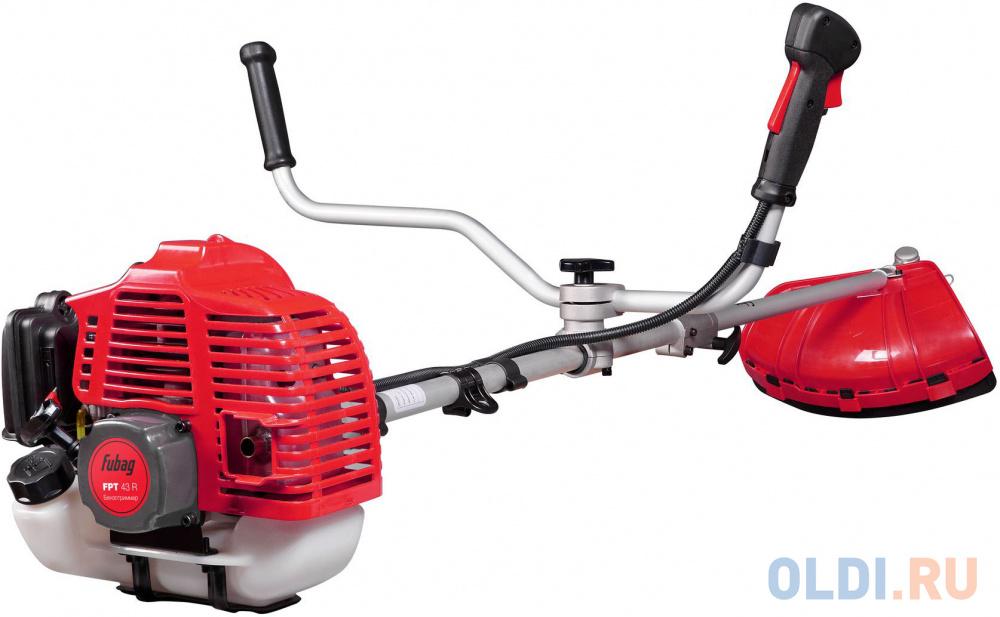 Мотокоса FUBAG FPT 43R (38711)  1.3кВт 43 см3 разборная штанга двухплечевой ремень велосипедная рук.