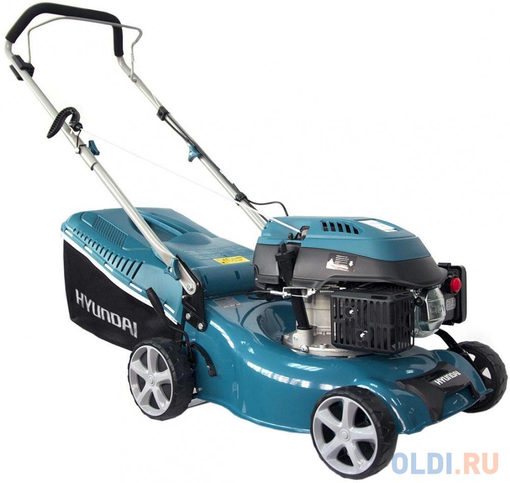 Фото - колесная газонокосилка / триммер Hyundai L 4310 колесная газонокосилка триммер зубр згкэ 38 1600