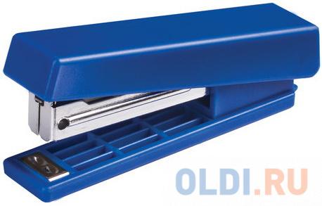 Степлер KW-trio N10 до 12 листов ассорти (черный красный синий светло-серый) -5280.