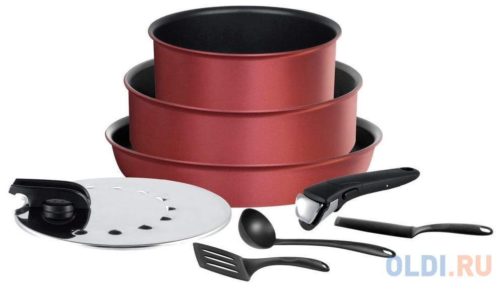 Фото - Набор посуды Tefal Ingenio Perfomance L6598902 8 предметов (2100107111) набор посуды tefal ingenio perfomance l6598902 8 предметов