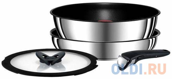 Фото - Набор посуды Tefal Ingenio Red L9409072 2100106898 набор посуды tefal ingenio perfomance l6598902 8 предметов