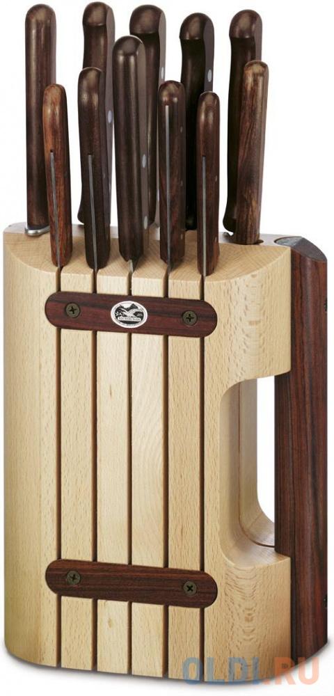 Фото - Набор ножей Victorinox Wood 11 предметов 5.1150.11 набор ножей victorinox wood 5 1050 3g