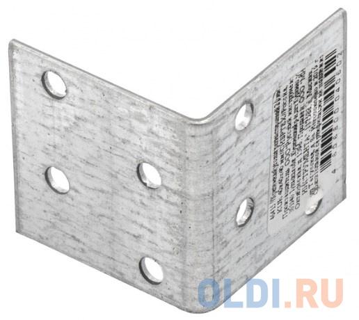 Крепежный уголок равносторонний 2,0 мм, KUR 40x40x40 мм, Россия </div> <div class=