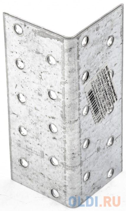 Фото - Крепежный уголок равносторонний 2,0 мм, KUR 40x40x100 мм, Россия// Сибртех уголок крепежный сибртех равносторонний 2 мм 40x40x80 мм
