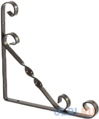 Кронштейн декоративный 200х200 мм, коричневый// Сибртех