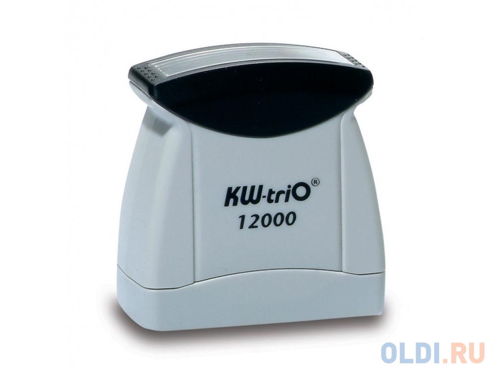 Штамп KW-trio 12006 со стандартным словом ЗАРЕГИСТРИРОВАНО пластик цвет печати ассорти.