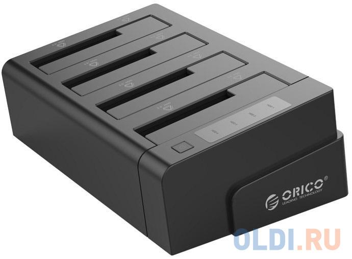 "Док станция для HDD 2.5""/3.5"" SATA Orico 6648US3-C-BK USB3.0 черный"