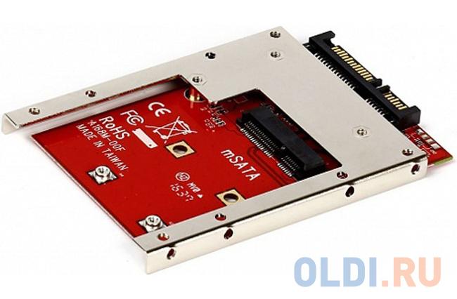 Переходник-конвертер Smartbuy ST-168M-7 для mSATA SSD в 7mm 2.5 SATA переходник sata 13930