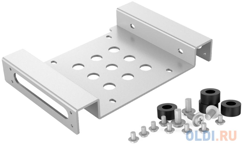 Фото - Салазки для HDD, mobile rack, серебристый, ORICO AC325-1S-SV салазки kingston для 3 5 отсека для hdd 2 5 sna br2 35