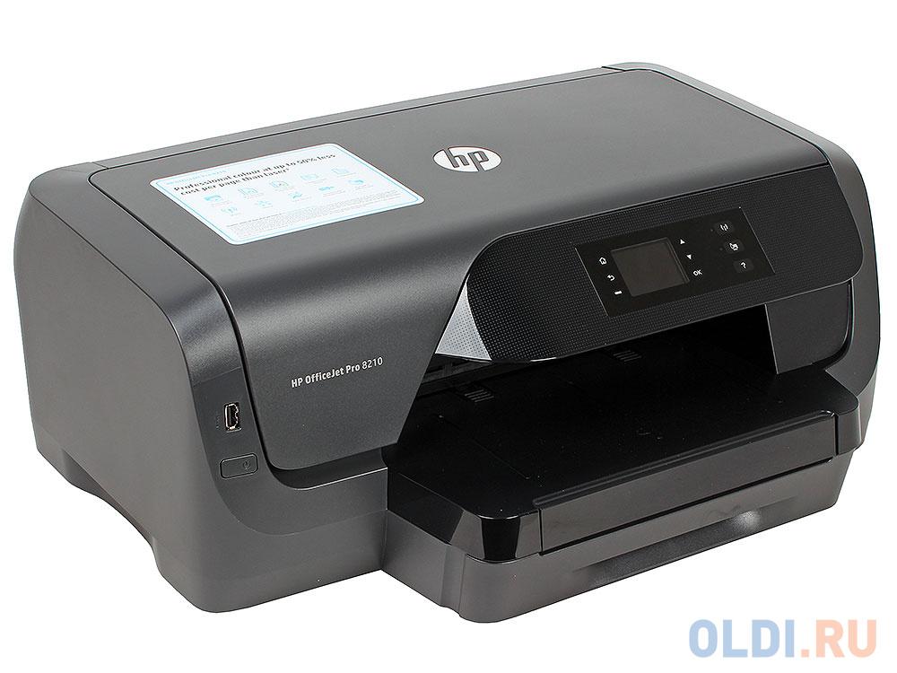 Фото - Принтер HP Officejet Pro 8210 принтер hp officejet pro 8210 черный