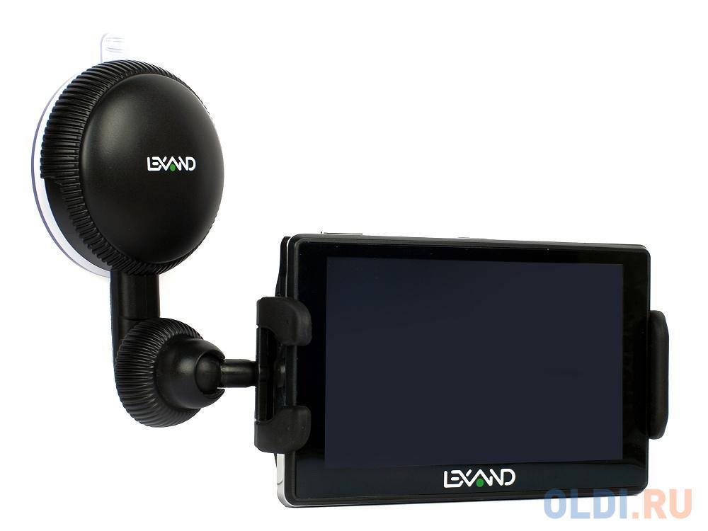 Универсальный автомобильный держатель LEXAND LМ-701 для GPS, КПК, смартфонов. MP3/MP4 плеера (с шириной от 10,5 до 14,5 см), поворот 360°