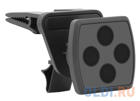 Автомобильный держатель Deppa Mage Air для смартфонов, магнитный, крепление на вентиляционную решетку автомобильный держатель deppa mage mount для смартфонов магнитный крепление на приборную панель черный
