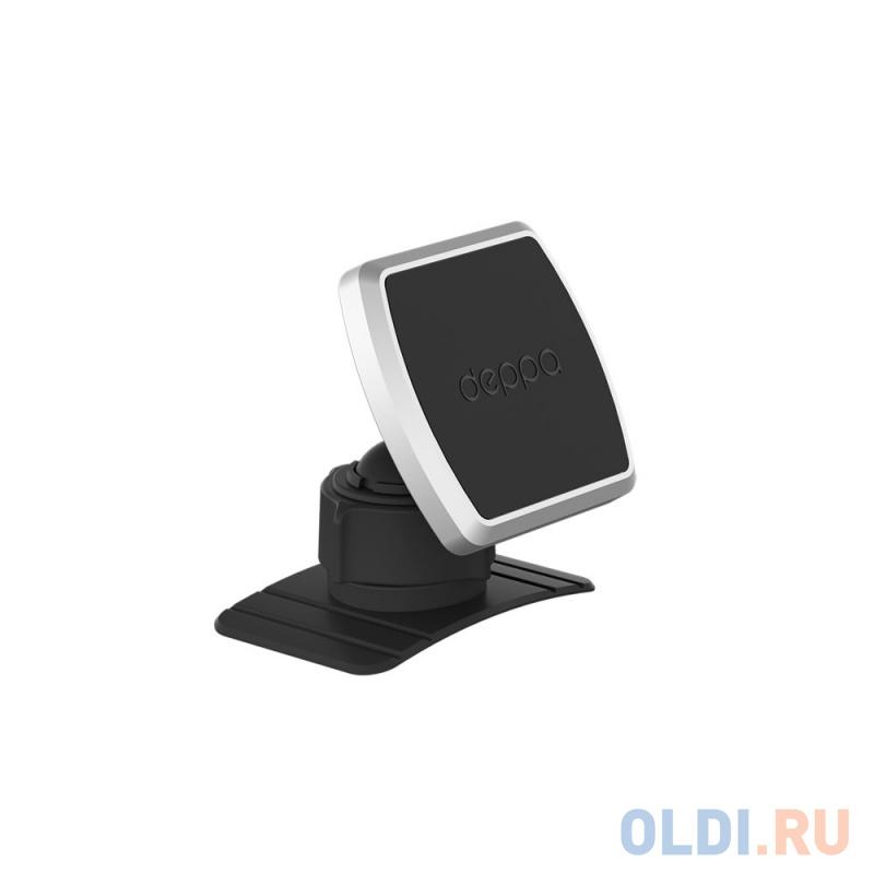Автомобильный держатель Deppa Mage Mount для смартфонов, магнитный, крепление на приборную панель, черный автомобильный держатель deppa mage mount для смартфонов магнитный крепление на приборную панель черный