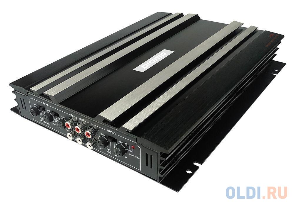 Усилитель звука Digma DCP-400 4-канальный