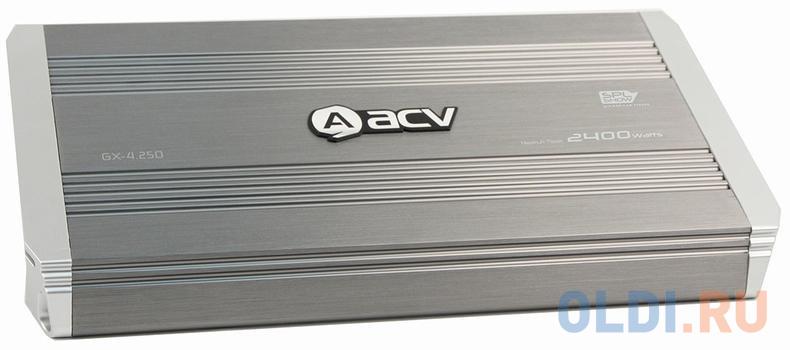 Усилитель автомобильный ACV GX-4.250 четырехканальный