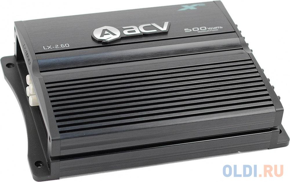 Усилитель автомобильный ACV LX-2.60 двухканальный