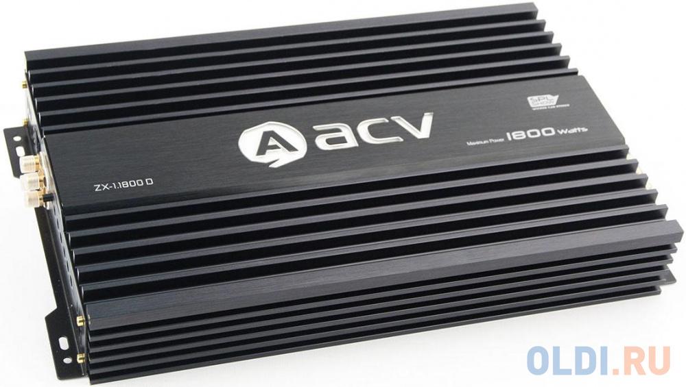Усилитель автомобильный ACV ZX-1.1800D одноканальный
