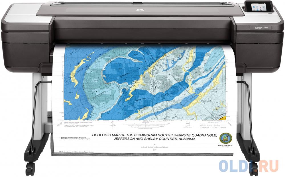 Принтер HP DesignJet T1700dr W6B56A цветной A0 2400x1200dpi Ethernet