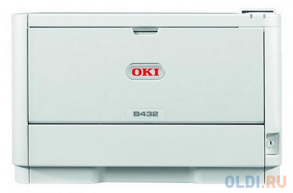 Принтер OKI B432DN монохромный ч/б A4 40ppm 1200x1200dpi 512Мб Ethernet USB 45762012