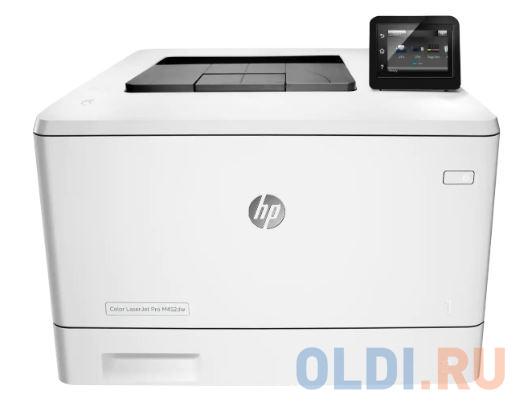 Принтер HP Color LaserJet Pro M454dw лазерный принтер лазерный hp color laserjet pro m255nw лазерный цвет белый [7kw63a]
