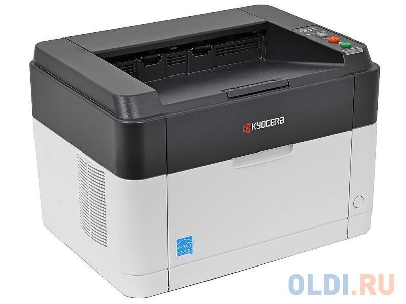 Принтер Kyocera FS-1040 <Лазерный, 20стр/мин, 600dpi, USB2.0, A4