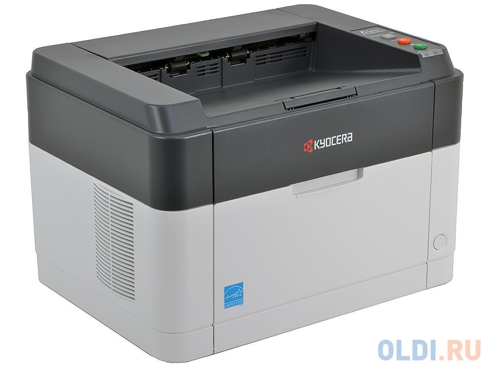Принтер Kyocera FS-1060DN <Лазерный, 25стр/мин, 600dpi, duplex, LAN, USB2.0, A4 (картридж TK-1120)