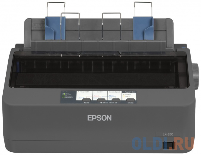 Фото - Принтер EPSON LX 350 ( Матричный, 12 cpi, 9pin, А4, USB) cpi