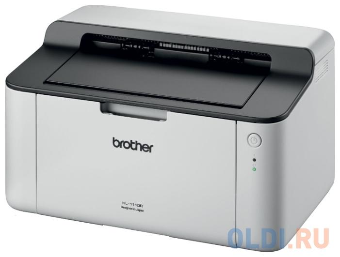 Принтер лазерный Brother HL-1110R, A4, 20стр/мин, USB (замена HL-1112R)