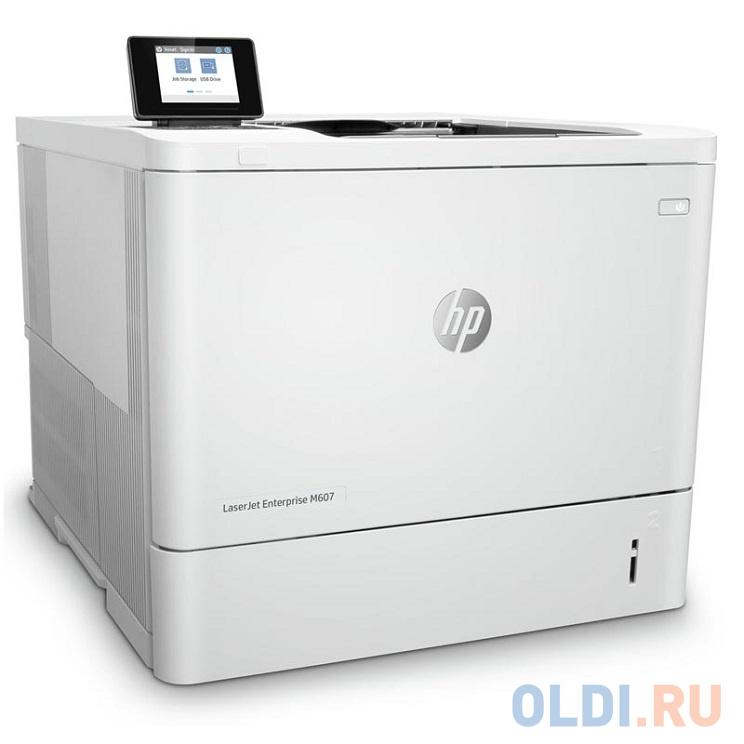 Фото - Принтер HP LaserJet Enterprise M607n лазерный принтер hp laserjet enterprise m806dn cz244a лазерный