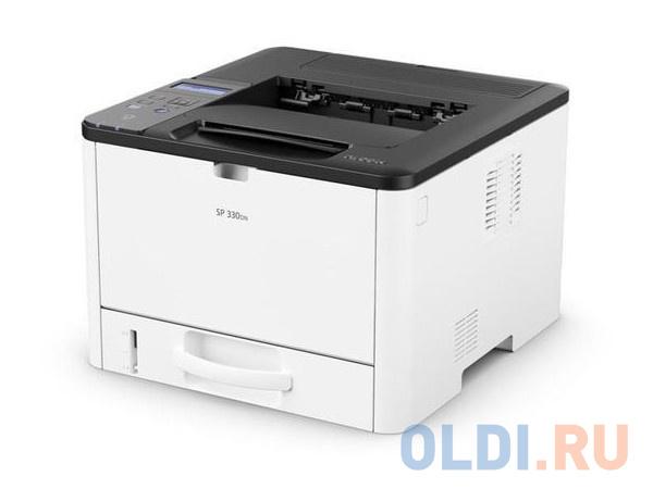 Принтер Ricoh SP 330DN <картридж 1000стр. (Лазерный, 32 стр/мин, 1200х600dpi, duplex, LAN, NFC, USB, А4)