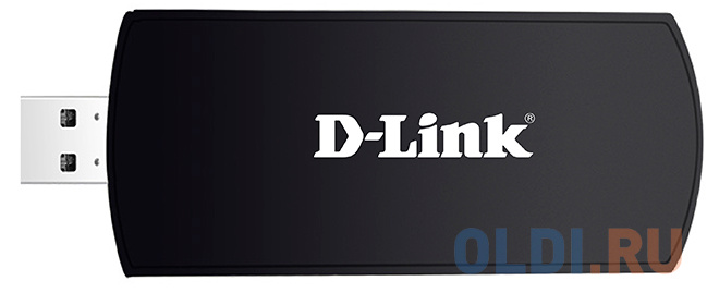 Беспроводной USB адаптер D-Link DWA-192/RU/B1 802.11n 1300Mbps 2.4 или 5ГГц
