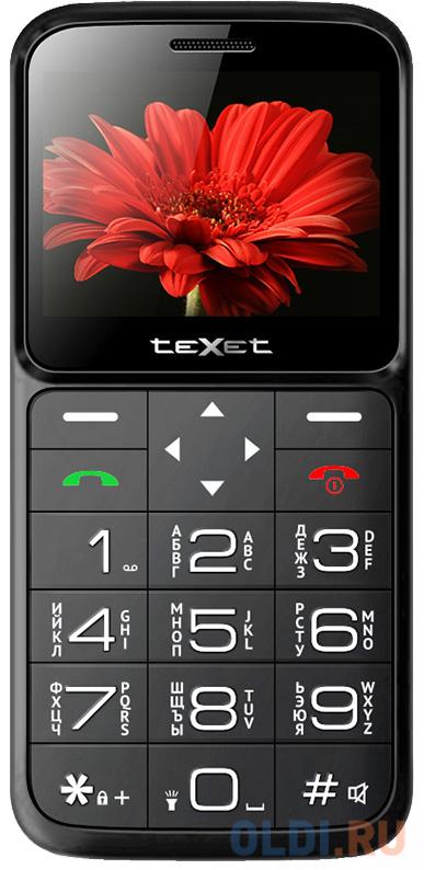 teXet TM-B226 черный-красный Мобильный телефон недорого