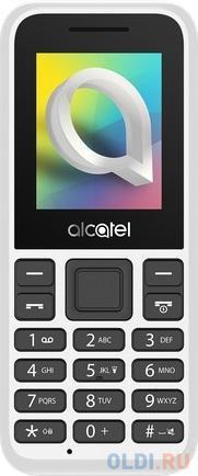 Мобильный телефон Alcatel 1066D белый 1.8 телефон alcatel 2019g серый металлик