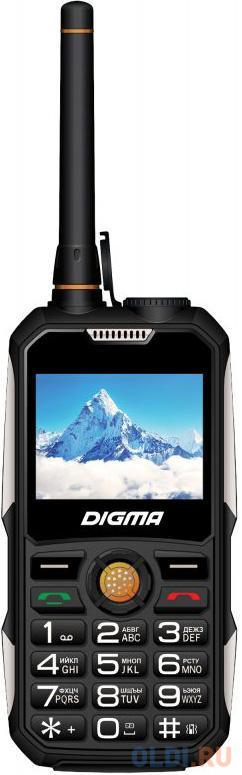 """Мобильный телефон Digma Linx A230WT 2G черный 2.31"""" Bluetooth digma linx a230wt 2g черный"""