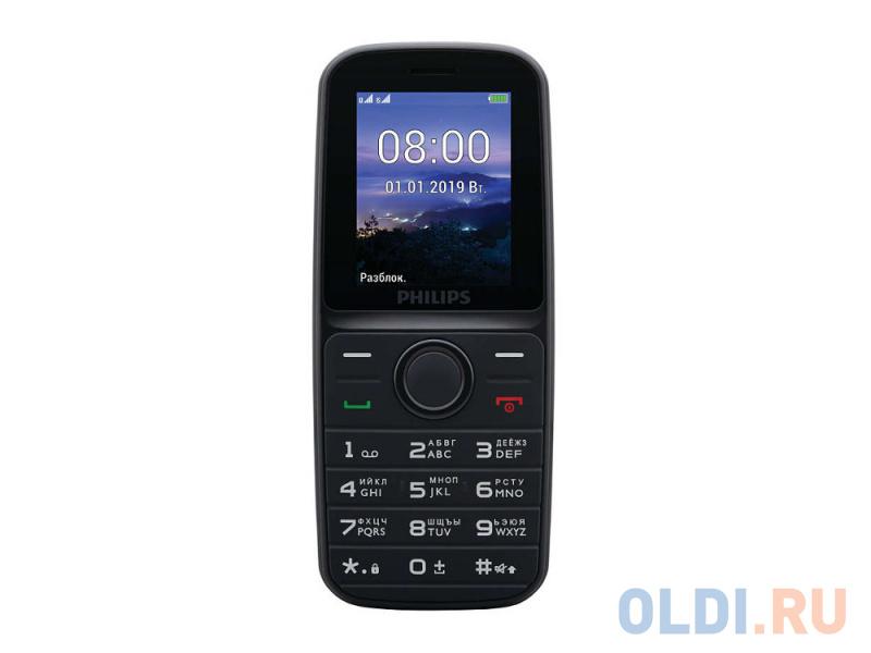 """Мобильный телефон Philips E109 черный 1.77"""""""