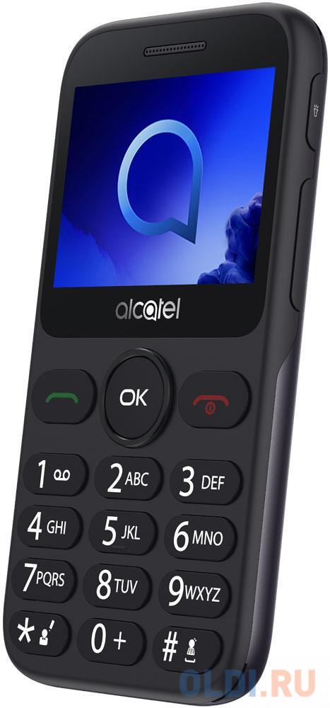 Телефон Alcatel 2019G серый 2.4 16 Мб Bluetooth телефон alcatel 2019g серый металлик