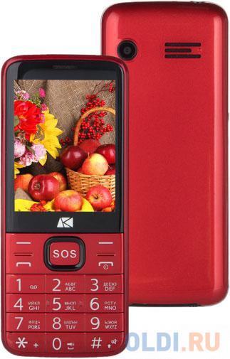 Мобильный телефон ARK Power 4 красный 2.8