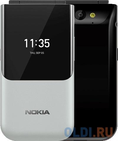 Мобильный телефон NOKIA 2720 DS TA-1175 серый черный 2.8