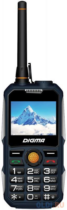 """Мобильный телефон Digma Linx A230WT 2G синий 2.31"""" Bluetooth digma linx a230wt 2g черный"""