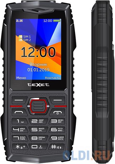 teXet TM-519R черный-красный Мобильный телефон недорого